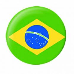 Ansteckbutton Brasilien | 4605