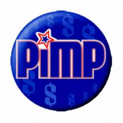 Ansteckbutton Pimp   4674
