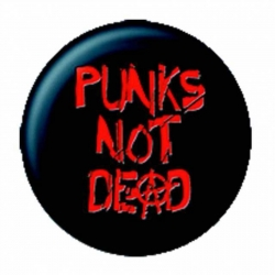 Ansteckbutton Punks not Dead | 8554