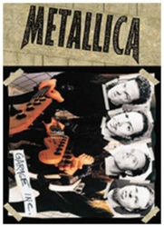 Metallica Photocopy Heads Postkarte
