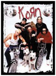 Korn Pimp Shot Postkarte