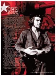 Che Guevara Postkarte