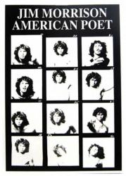 Jim Morrison Poet Postkarte