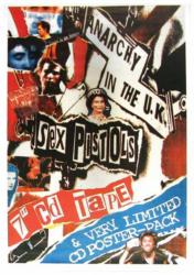 Sex Pistols Anarchy Postkarte