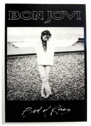 Bon Jovi Bed of Roses Postkarte