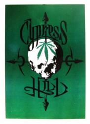 Cypress Hill Skull Postkarte