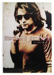 Bon Jovi Always Postkarte