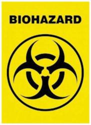 Biohazard Postkarte
