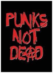 Punks Not Dead Postkarte