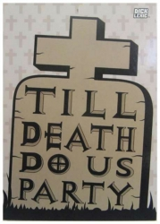 Till Death Do Us Party Postkarte
