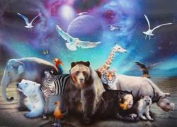3D Poster - Tierische Welt