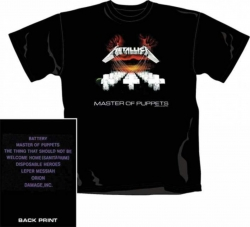 Metallica - Master of Puppets - T-Shirt