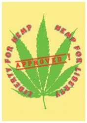 Posterfahne Cannabis | 012