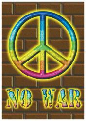 Poster Flag No War | 125