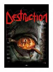 Posterfahne Destruction Day of Reckoning