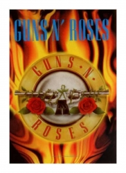 Posterfahne Guns and Roses