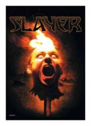 Posterfahne Slayer Torch Head | 288