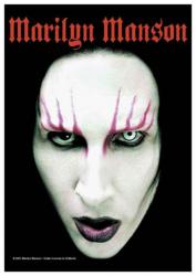 Posterfahne Marilyn Manson | 315