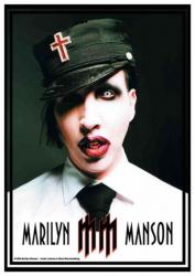 Posterfahne Marilyn Manson   627