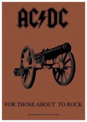 Posterfahne AC/DC   719