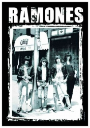 Posterfahne Ramones | 768