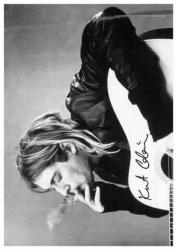 Posterfahne Kurt Cobain | 891