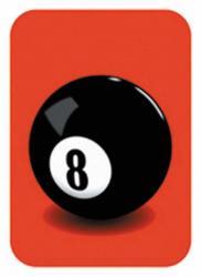 Aufkleber 8 ball | 0258