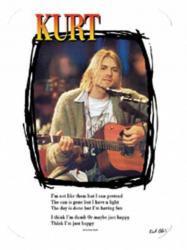 Aufkleber Kurt Cobain | 0779