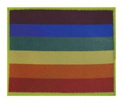 Regenbogen Flagge Aufnäher   R015