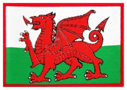 Wales Aufnäher   R366