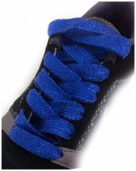 Glitzerschnürsenkel Königsblau