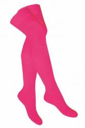 Overknee Socken Neon Pink
