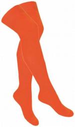 Overknee Socken Neon Orange