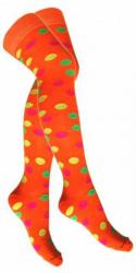 Overknee Socken Mehrfarbig Gepunktet