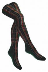 Overknee Socken Rot & Weiß mit Herzen
