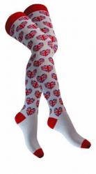 Overknee Socken United Kingdom Herze