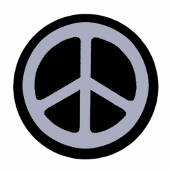 Peace Aufnäher   0559