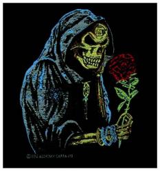 Alchemy Black Rose Aufnäher | 0910