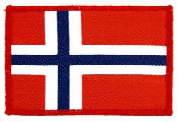Flag Norway Aufnäher | 0918