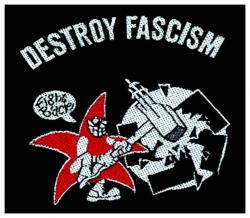 Destroy Fascism Aufnäher   1096