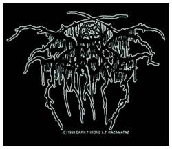 Darkthrone Lurex Logo Aufnäher | 1403