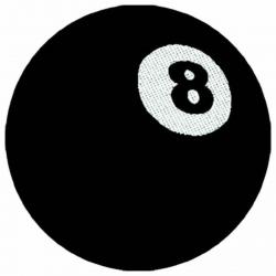 8 Ball Aufnäher | 1628