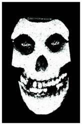 Misfits White Skull Aufnäher | 1640