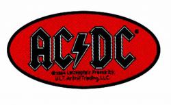 AC/DC Oval Logo Aufnäher | 1901