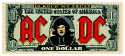 AC/DC Bank Note Patch | 1905