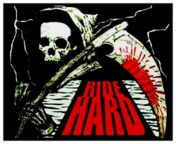 Ride Hard Aufnäher | 1972