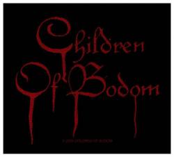 Children Of Bodom Blood Logo Aufnäher | 2015
