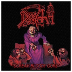 Death Scream Bloody Gore Aufnäher | 2352