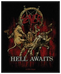 Slayer Hell Awaits Aufnäher | 2417