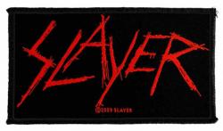 Slayer Scratched Logo Aufnäher | 2419